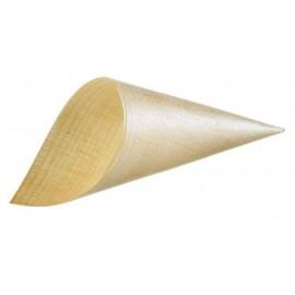 Cono In Legno Piccolo Ø 4x11,5cm 50pz. 1ct.x16cf
