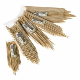 Stecconi Bamboo 25cm. 3mm. 1000 Pz. 1ct.x10cf.