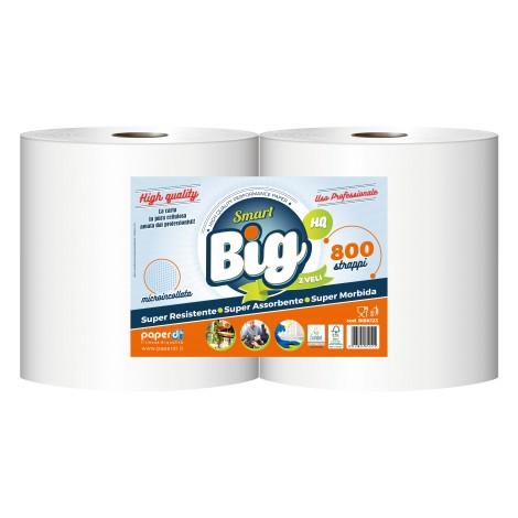 ROTOLI ASCIUGATUTTO X2 2V BIG 800